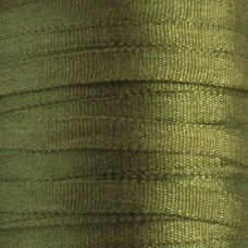 Silk Ribbon - Dark Sage - 2mm