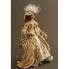 Costumed Doll - Georgiana Cavendish, Duchess of Devonshire