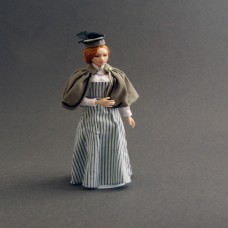 Costumed Doll - Miss Grey - SOLD