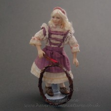 Costumed Doll - Naomi with hoop - SOLD