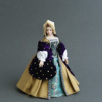 Costumed Doll - Phillipa - SOLD