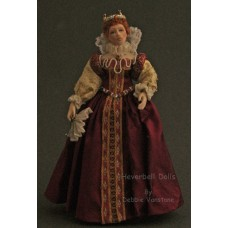 Costumed Doll -                                Queen Elizabeth I