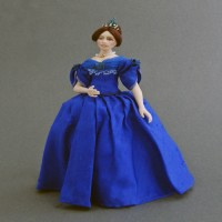 Costumed Doll - Young Queen Victoria