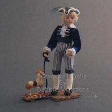 Costumed Doll - William